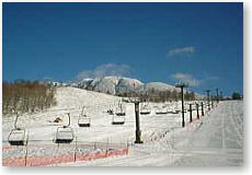 skiing ground of Piratasu
